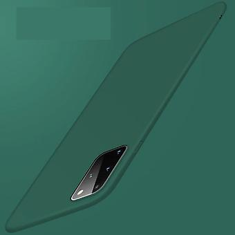 USLION Samsung Galaxy Note 20 Magnetic Ultra Thin Case - Hard Matte Case Cover Dark Green