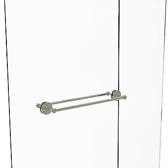 Que New Collection 24 Inch Back To Back Shower Door Towel Bar - Qn-41-Bb-24-Pni