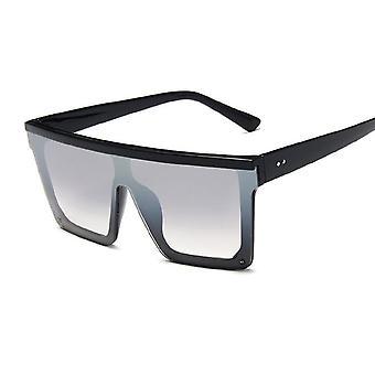 مربع، إطار كبير أزياء الرجعية مرآة نظارات الشمس، خمر سيدة لنيت دي