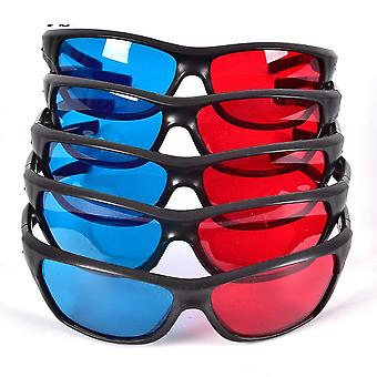 Frame 3d Glasses For Dimensional Anaglyph Movie Game Dvd