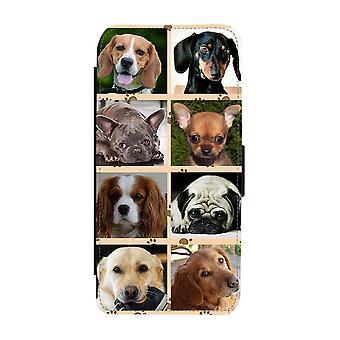 Hundar iPhone 12 Mini Plånboksfodral
