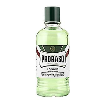 Proraso Refreshing After Shave Lotion 400ml Splash - Green