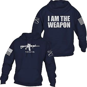 Grunt Style I Am The Weapon Pullover Huppari - Laivasto