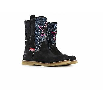 SHOESME Zipped Boot With Sparkly Front & Star