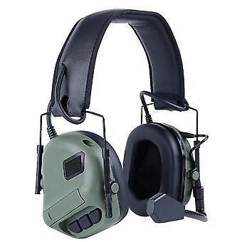 Căști Militare Standard Shooting, Earmuff Cu Ptt Walkie-talkie Radio