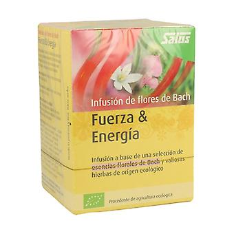 Bach Flowers Strength and Energy Infusion 15 packets