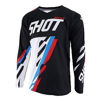 Shot Contact Score Red Adults MX Jersey