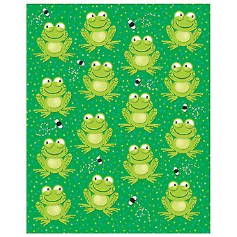 Pegatinas de forma de ranas, 90 pegatinas