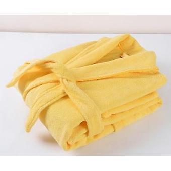Άνδρες Γυναίκες Βαμβάκι Terry Μπουρνούζι εραστές στερεά πετσέτα sleepwear μακρύ μπάνιο ρόμπα