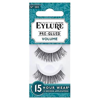 Eylure False Eyelashes - Volume N°101 (pre Glued)