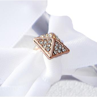 Rose Gold Square Shoe Charm