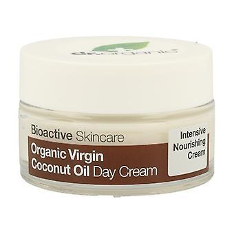 Organic Virgin Coconut Oil Day Cream 50 ml of cream