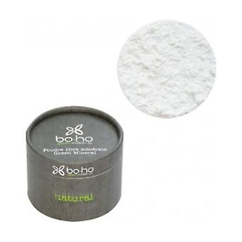 Translucent white green mineral 05 loose powder 10 g of powder
