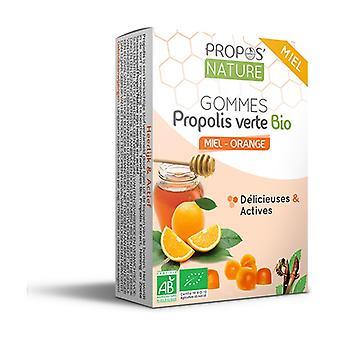 Organic honey / orange propolis gums 45 g