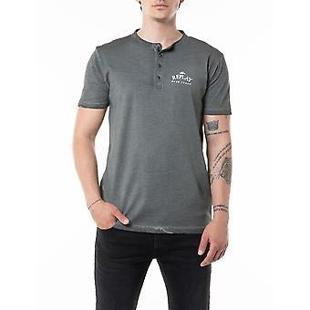 Replay Men's T-Shirt Regular Fit Dark