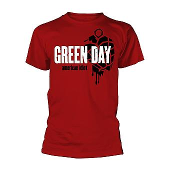 Green Day American Idiot Heart Granada Oficial Tee T-Shirt Unissex