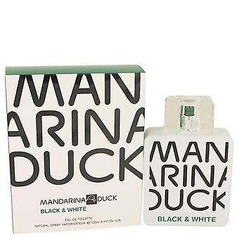 Mandarina Duck zwarte & witte Eau De Toilette Spray door Mandarina Duck 3.4 oz Eau De Toilette Spray