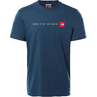 North Face Nse T92TX4BH7 universella män t-shirt