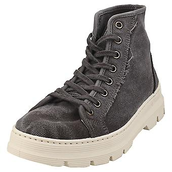 Natural World Old Iris Womens Casual Boots in Black