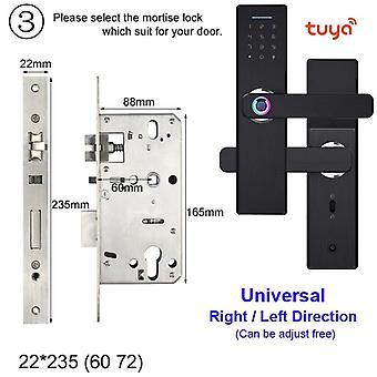 Wifi Electronic Door Lock With Tuya App Remotely / Biometric Fingerprint /