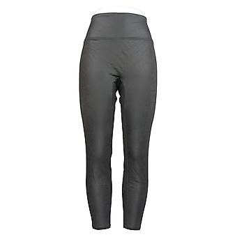 All Worthy Hunter McGrady Leggings The Ultimate Faux Leather Gray A387465
