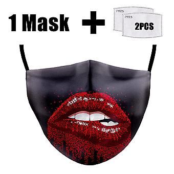 Mouth Mask, Reusable, Washable, Dust Face Masks, Anti Bacteria Proof