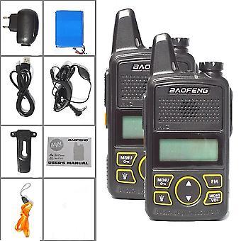 Original Bf-t1 Walkie Talkie Mini Handheld Two-way Radio Portable Ham