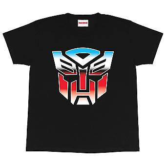 Transformers Girls Autobots Logo T-Shirt