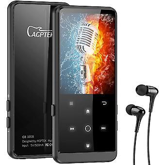 FengChun MP3 Player, 32GB Bluetooth 4.2 MP3 Player mit Kopfhörer, 2.4 Zoll TFT Bildschirm, FM,
