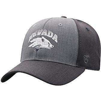 Nevada Wolfpack NCAA BLÅR Power Trip Stretch Monteret Hat