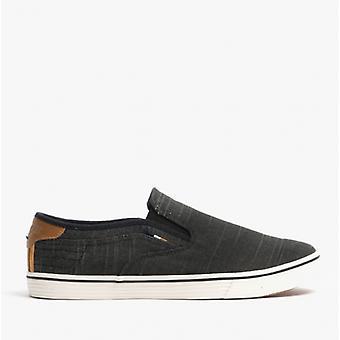 Wrangler Calypso Slip en zapatos casuales para hombre negro
