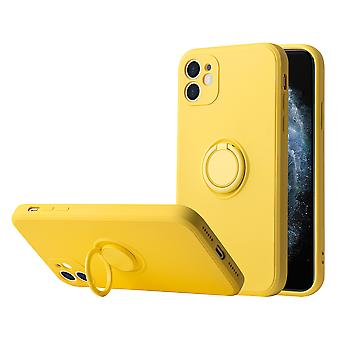 Iphone 12 Case Protection Liquid Silicone Case ,with Support