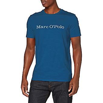 Marc O'Polo 26222051230 Camiseta, Azul (Blau), Hombre Pequeño