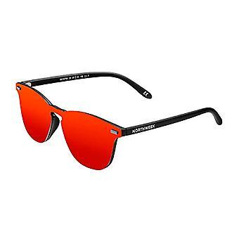 Northweek WALL PHANTOM FLAKA Sunglasses, Red, 136.0 Unisex-Adult