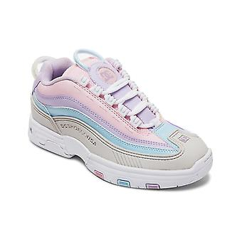 DC Legacy OG Trainers in Grijs/Roze