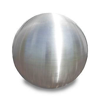 Piłka ze stali nierdzewnej Piłka ogrodowa Kulka dekoracyjna SferaInox 38cm matowa 10977