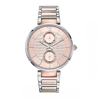 Jean Paul Gaultier dameshorloge - 8507205 - Roze gouden stalen armband