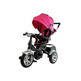 Driewieler kinderwagen multifunctioneel 500 –  Roze