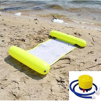 Water hammock recliner inflatable floating Swimming Mattress sea swimming ring Pool Party Toy