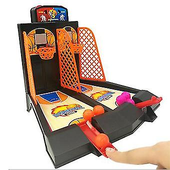 Pöytäkoripallopelit mini sormi kori urheilu ammunta interaktiivinen pöytätaistelu taistelu lauta juhlapelit lelut az20147