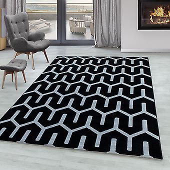 Tappeto soggiorno RICA Short Pile Soft Flor Grid Design