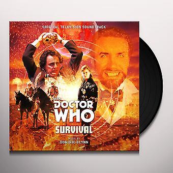 Dominic Glynn - Doctor Who: Survival Vinyl