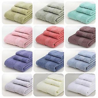Serviette de bain grise set serviettes serviettes de bain et serviettes carrées costumes 3 pièces fa1178