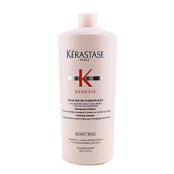Kerastase Genesis Bain Nutri-Fortifiant Fortifying Shampoo (Dry Weakened Hair  Prone To Falling Due To Breakage From Brushing) 1000ml/34oz