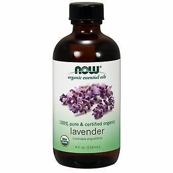 Now Foods Organic Lavander Oil, 4 Oz