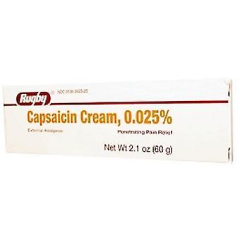 Crème de rugby à la capsaïcine, 2.1 Oz