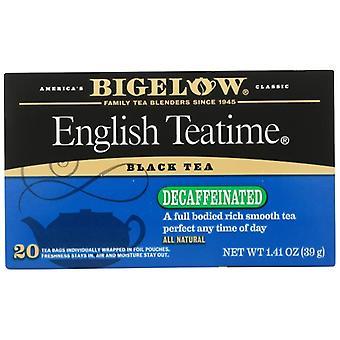 Bigelow Tea Decaf Eng Teatime 20B, Case of 6 X 1.41 Oz