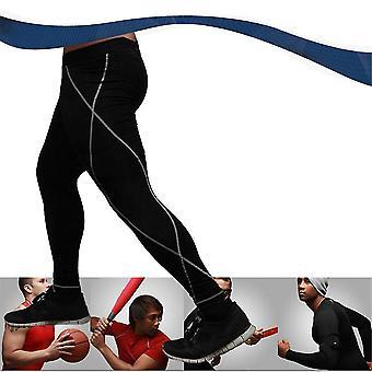 Herre Sport Tight Slim Running Pants Lange leggings termisk under bukser