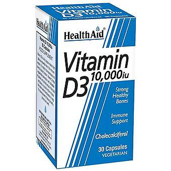 HealthAid Vitamine D3 10;000iu Vegicaps 30 (801227)