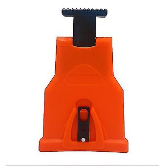 Woodworking Chainsaw Sharpener Fast Grinding Electric Power Tool(Orange)